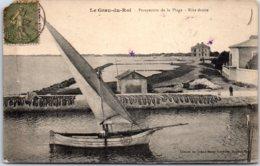 30 LE GRAU DU ROI - Perspective De La Plage - Rive Droite - Le Grau-du-Roi