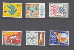 QATAR - 1968 - MEXICO OLYMPICS SET OF 6 MINT NEVER HINGED ,SGCAT £32 - Qatar