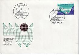 Switzerland 1967  Zurich  25.9.67   Mi.860 - Covers & Documents