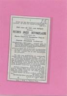 PETRUS JOZEF DEVOGELAERE-GEEL- LIER-SLUISMEESTER - Décès