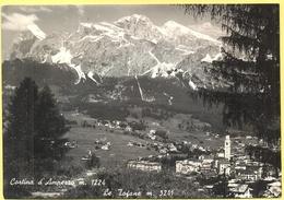 ITALIA - ITALY - ITALIE - 1965 - 15 Michelangiolesca - Cortina D'Ampezzo, Le Tofane - Viaggiata Da Cortina D'Ampezzo Per - Italia
