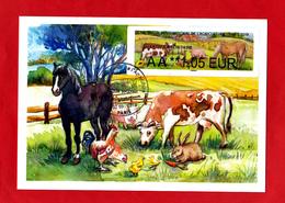 Atm-Lisa /  Lettre Prio, AA  1.05 € Oblitération 23/02/19 Salon De L'Agriculture 2019 - 2010-... Vignettes Illustrées