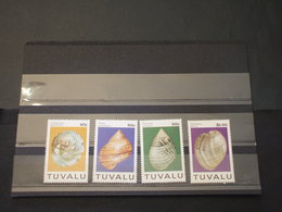 TUVALU - 1994 CONCHIGLIE  4 VALORI - NUOVI(++) - Tuvalu
