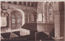 STOKE POGES CHURCH INTERIOR . GRAYS PEW - Buckinghamshire