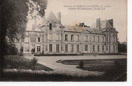 GADANCOURT -ENVIRONS DE MAGNY EN VEXIN -  CHÂTEAU - FAÇADE EST - Frankrijk
