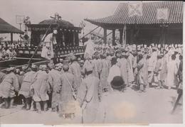 KOREANISCHE KAISER YI IN KEIJO SARG AM PLAZE   COREA KOREA COREE EAST ASIA 16*11CM Fonds Victor FORBIN 1864-1947 - Sin Clasificación