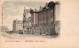 Nieuport  Hotel Prévost Colorisé  Circulé En 1904 - Nieuwpoort