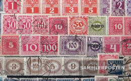 Austria Stamps-50 Different Postage Stamps - Collections