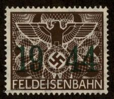 Germany 1944 GGov Poland MNH Feldeisenbahn Fee Stamp 92859 - Postzegels