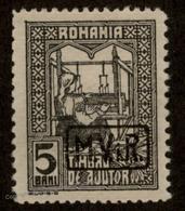 Germany WWI Romania Mi5b Zwangszuschlagmarke MViR On Revenue 93066 - Unclassified
