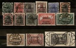 Germany Plebescite Allenstein Mi1-14 Set Used Sound 93107 - Stamps