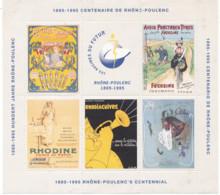 Feuillet Centenaire Rhone - Poulenc - Commemorative Labels
