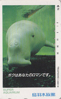 Télécarte Japon / 290-36698 - ANIMAL - DUGONG LAMANTIN - Mammifère Marin - MANATEE Japan Phonecard - 11 - Dauphins