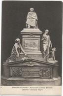 W4108 Piazzola Sul Brenta (Padova) - Palazzo O Villa Camerini - Monumento Al Duca Silvestro - Scultura Di Giovanni Duprè - Italia