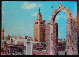 TUNIS - Terrasse Du Palais D'Orient - TUNISIE - Mosque    Vg - Tunisia