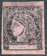 ARGENTINA: GJ.17, Magenta, Type 3, Mint, Very Fine Quality, Rare! - Corrientes (1856-1880)