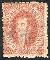 ARGENTINA: GJ.19e, 1st Printing, THIN PAPER, Mint, Excellent Quality! - Argentina