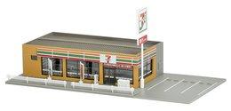 Tomytec Diorama :  Seven Eleven Convenience Store   1/150 ( N Gauge ) - Streckendekoration