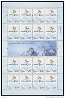 China 2015-S10 2022 Winter Olympic Success Bid Sport Full S/S T10 - Winter 2022: Peking