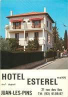 "CPSM FRANCE 06 ""Juan Les Pins, Hotel Esterel"" - Antibes"