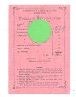 ANDENNE - Bulletin Hebdomadaire - Pensionnat Notre-Dame (b257) - Programmes