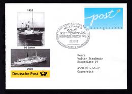 DEUTSCHE SCHIFFSPOST MS ATLANTIS 1952 2002 50 Jahre REEDEREI CASSEN EILS - Unclassified
