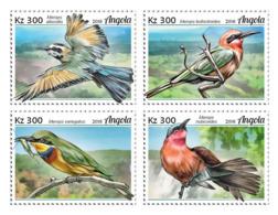 Angola  2018  Fauna Bee-eaters, Birds   S201901 - Angola