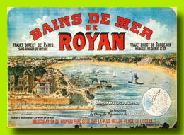 ROYAN Plage Et Front De Mer   8  (scan Recto-verso)MA2064Ter - Royan