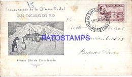 117248 ARGENTINA ANTARTIDA ANTARCTICA COVER ISLAS ORCADAS DEL SUD YEAR 1942 NO POSTAL POSTCARD - Argentinien