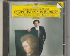 Cd   MOZART  Symponien 25 26 27  Wiener Philharmoniker James Levine   Etat: TTB Port 110 GR - Klassik
