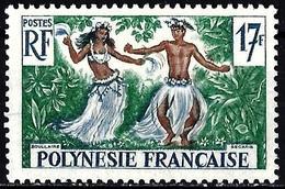 French Polynesia 1960 - Mi 18 - YT 10 ( Tahitian Dancers ) MH* - Ongebruikt
