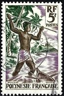 French Polynesia 1960 - Mi 16 - YT 6 ( Harpoon Fishing ) - Unused Stamps
