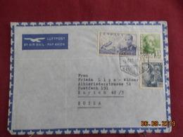 Lettre De 1951 à Destination De Zurich - 1931-Oggi: 2. Rep. - ... Juan Carlos I