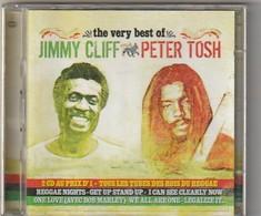 Cd  Jimmy Cliff ET Peter Tosh  2 CD   The Very Best Of   Etat: TTB Port 140 GR - Reggae