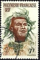 French Polynesia 1958 -  Mi 6 - YT 7 ( Native Tahitian ) - Frans-Polynesië