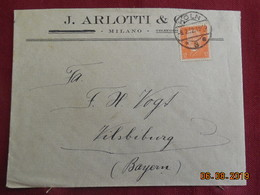 Lettre De 1932 à Destination De Vilsbiburg - Deutschland