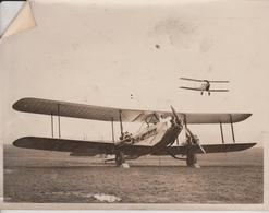 GIANT AIR LINER IMPERIAL AIRLINES CAIRO EGYPT KARACHI HAVILAND HÉRCULES  MOTH  21*16CM Fonds Victor FORBIN 1864-1947 - Aviación