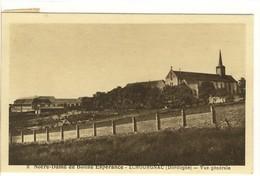 Carte Postale Ancienne Echourgnac - Notre Dame De Bonne Espérance. Vue Générale - Francia