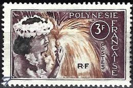 French Polynesia 1964 - Mi 34 - YT 28 ( Tahitian Dancer ) - Polynésie Française