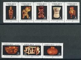 Costa Rica MiNr. 1327-34 Postfrisch MNH Kunst (KU1050 - Costa Rica