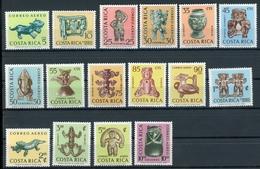 Costa Rica MiNr. 641-56 Postfrisch MNH Kunst (KU1053 - Costa Rica