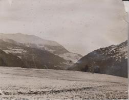 CHAVEZ TRAVERSÉE  LES ALPES  20*16CM Fonds Victor FORBIN 1864-1947 - Aviación