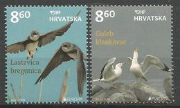 HR 2019-1378-9 EUROPA CEPT, HRVATSKA CROATIA, 1 X 2v, MNH - Kroatien