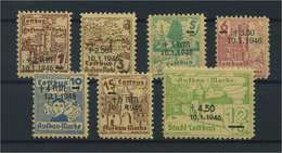 COTTBUS 1945 Nr 25-31 Postfrisch (117145) - Deutschland