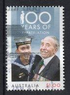 2018 AUSTRALIA WRLD WAR I REPATRIATION VERY FINE POSTALLY USED $1 Sheet - 2010-... Elizabeth II