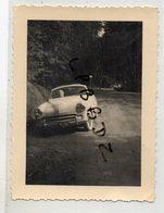 PHOTO - VIEILLE AUTOMOBILE - CABRIOLET SIMCA Type 90 G - 1956 - Cars