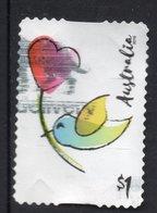2019 AUSTRALIA Bird & Heart VERY FINE POSTALLY USED $1 BOOKLET S-ADHESIVE Stamp - Oblitérés