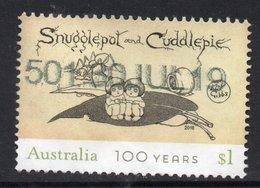 2018 AUSTRALIA SNUGGLE POT  VERY FINE POSTALLY USED $1 Sheet Stamp - Oblitérés