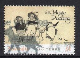2018 AUSTRALIA MAGIC PUDDING  VERY FINE POSTALLY USED $1 Sheet Stamp - Oblitérés