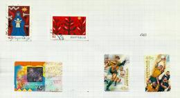 Australie N°1781, 1782, 1784 à 1786 Cote 4.60 Euros - 1990-99 Elizabeth II